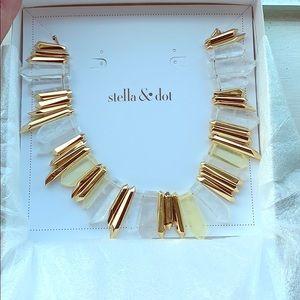 Stella & Dot Rebel stone statement necklace!!!